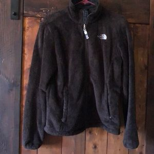 Women's North Face Zippered Fleece Jacket